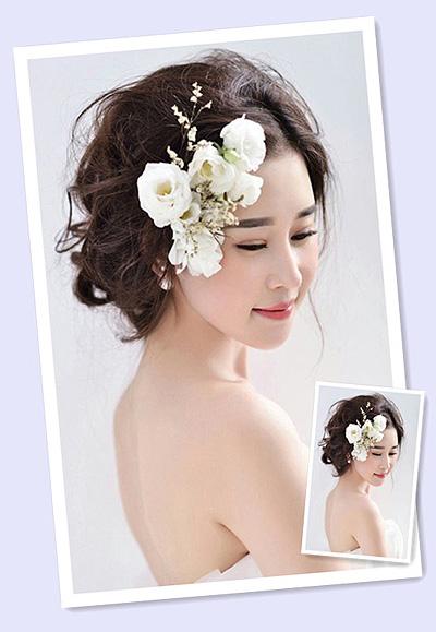 在结婚的时候自然也希望自己拥有一款漂亮迷人的造型,选对新娘发型,立图片
