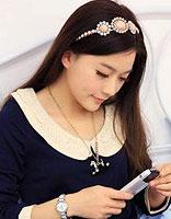 日系淑女发型 直发甜美气质淑女发型