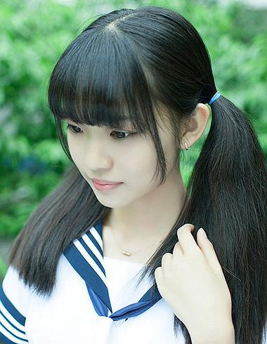 学生马尾辫发型设计 马尾辫发型搭配什么样的刘海图片