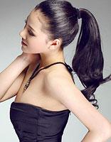 韩国美女发型图片长发螺旋烫 螺旋烫卷发发型图片