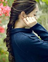 梨花烫发型怎样扎好看 怎么扎梨花烫的发型