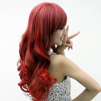 时尚挑染 时尚发型 染发图片 发型师姐图片