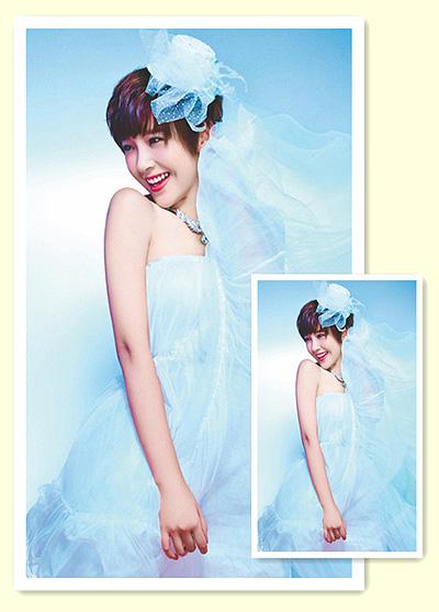 适合婚礼的短发发型 短发新娘发型