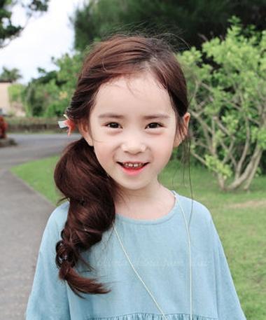 小女孩头发怎么扎好看 好看小女孩头发型
