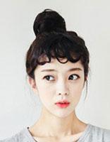 齐肩发型怎么扎丸子头 可爱的日式丸子头发型