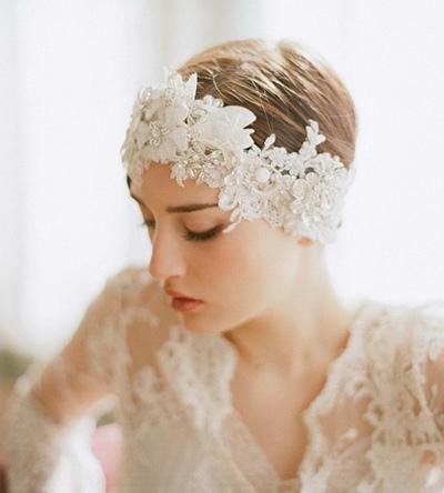 2015适合怎样的新娘发型 新娘发型图片