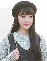 最简单的齐刘海发型   齐刘海短发发型图片