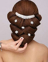 2015新娘发型步骤 韩国新娘发型