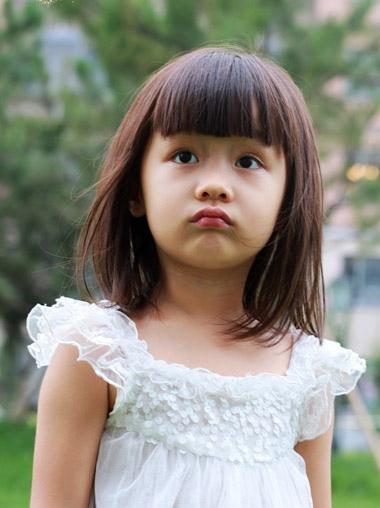 幼儿发型图片 流行美幼儿发型