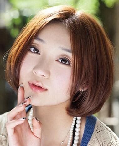 短发波波头_短发发型_波波头发型_发型师姐图片