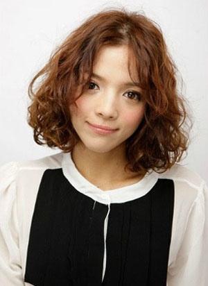 蛋卷烫发型 蛋卷烫发型图片 韩国蛋卷烫发型 发型师姐图片