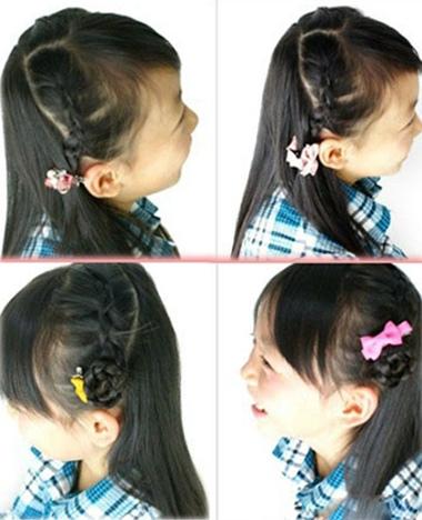 女童发型_小女孩发型绑扎方法_女童发型图片_女童发型图片