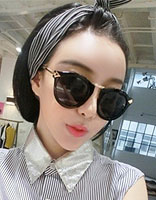 适合瘦脸妹妹的发型 戴眼镜瘦脸适合什么发型
