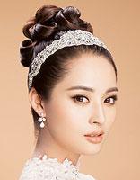 韩国的包包头怎么绑 简单新娘气质包包头
