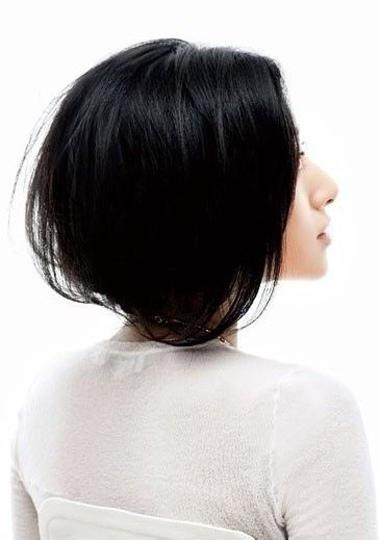 长发怎么扎波波头 长发变短发波波头的步骤