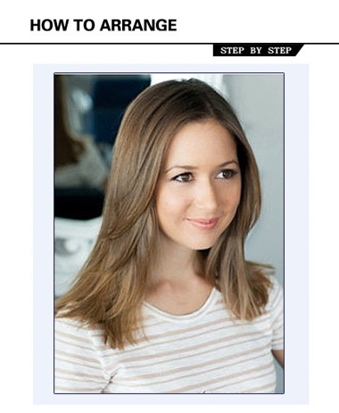 女生长发拉直发 怎么自己烫直发发型