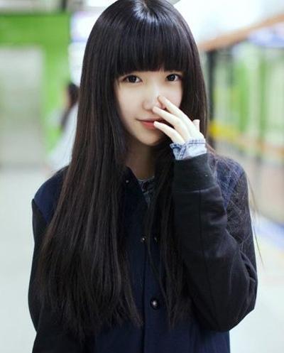窄额头方圆脸的女生适合什么发型呢?图片