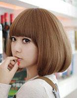 女士短发型大圆脸 大圆脸适合什么发型短发