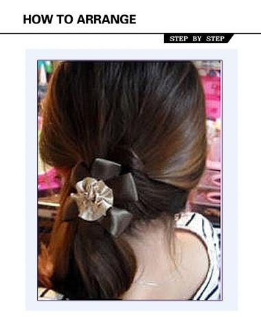 发型热点 > 韩式头发扎法 >   标签:简单漂亮的韩式扎发   韩式头发扎图片