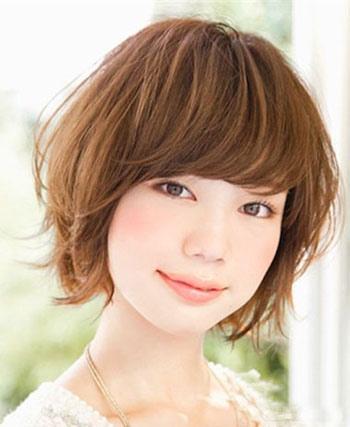 2015短发最新发型适合圆脸女生 短发发型图片2015女圆脸[圆脸]-圆脸
