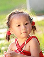 各种女童编头发图片 简单小女孩编头发图解