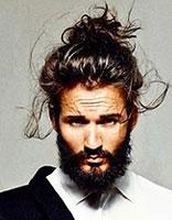 男生长发标准 男生长发图片