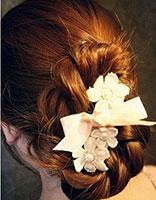 女生淑女头型梳发 女生淑女盘发发型