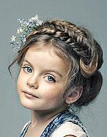 小孩短头发扎头发发型 小学生扎头发发型