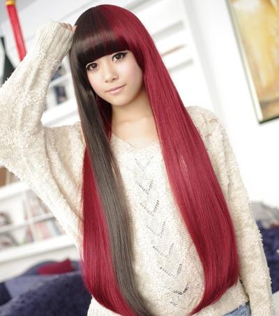 直发染什么样的颜色好看 直发女生染什么颜色最好看