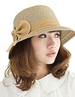 梨花头适合哪种帽子 女孩梨花头搭配什么帽子好