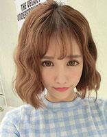 短发蛋卷头图片 女生短发的蛋卷头