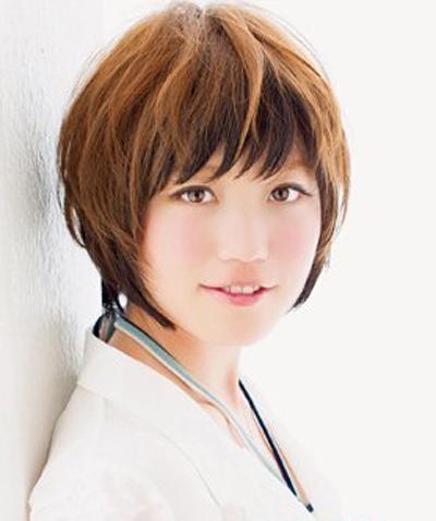 女生长脸超短发型 长脸适合的短发发型