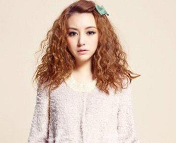 短脸长发发型 初中女生长发发型