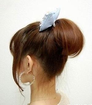 发型热点 > 韩式盘发 >