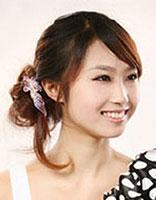 圆脸中短发发型扎法 圆脸短发发型设计图片