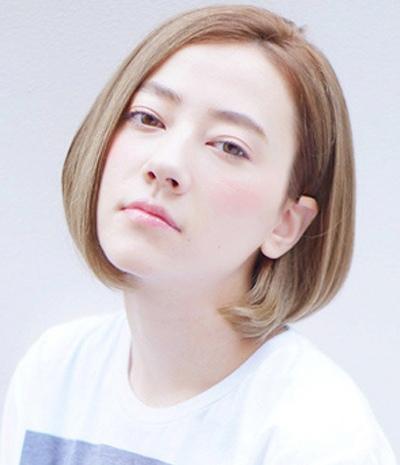 圆脸短发发型_适合圆脸的短发发型_圆脸短发发型图片图片