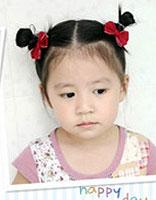 小女孩蘑菇头可以绑头发吗 小孩子蘑菇头绑头发的方法图解