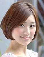额头窄大扁脸适合什么发型 额头大脸大的女生如何设计发型图片