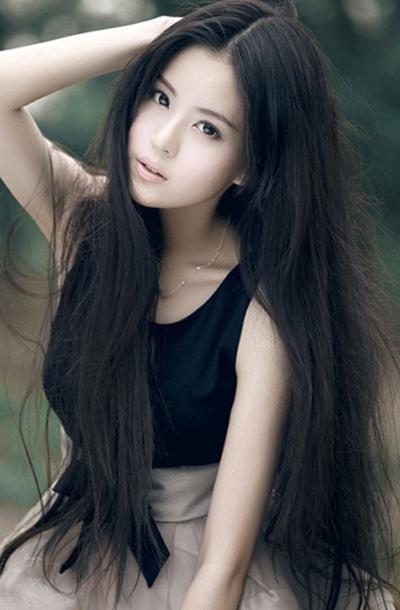 小脸直发发型怎么设计 适合小脸的披肩直发发型图片