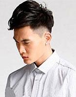 男士两鬓头发短薄中间长点叫什么发型 两边短上面长男士发型图片