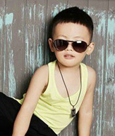 2015非主流男孩短发发型 非主流男童发型设计图片