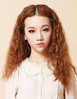 中长发蛋卷头发型 最新时尚女生中长蛋卷发型