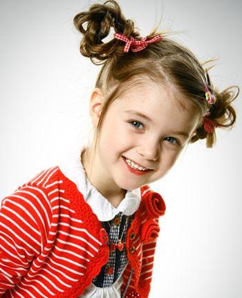 儿童辫子发型扎法 小女孩梳辫子发型