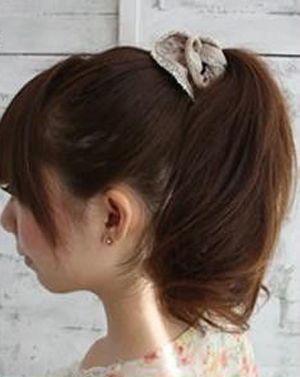 黑色马尾辫如何使用卷发棒 卷发棒怎么卷马尾辫