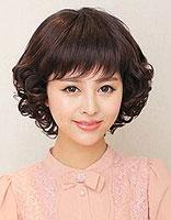 中年女性圆脸什么发型减龄 圆脸中年女士适合的发型图片