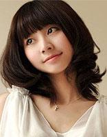 大脸头发少适合什么烫发发型 长脸型少女发型图片大全