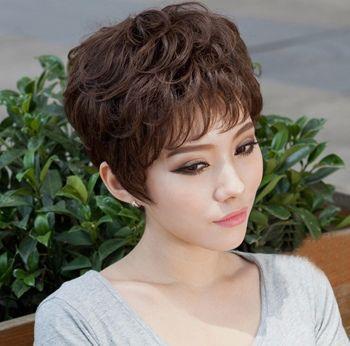 沙宣头女生头像_沙宣纹理烫发型图片 女生纹理烫沙宣头发型