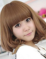 娃娃脸适合弄梨花内扣发型吗 娃娃脸适合的内扣发型图