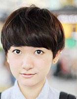 胖脸脖子短适合什么发型 适合胖脸女生的短直发发型图片