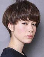 2015年适合长脸的短发发型 2015女生长脸短发发型设计图片